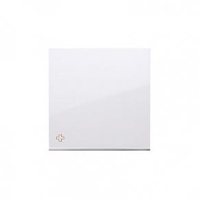 Klawisz pojedynczy do łączników i przycisków antybakteryjny biały DKW1/AB11 Simon 54 Kontakt-Simon