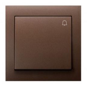 Dzwonkowy brązowy włącznik ŁP-6W/52 KIER OSPEL