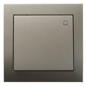 Satynowy włącznik dzwonkowy ŁP-6W/45 KIER OSPEL