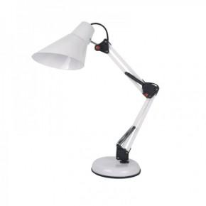 Lampki-biurkowe - nowoczesna lampka na biurko biała kreślarska 40w e27 lilly fn017 nilsen