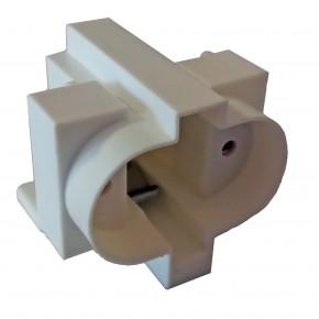 Oprawki-montazowe - oprawka świetlówki kompaktowej dwa piny g-23