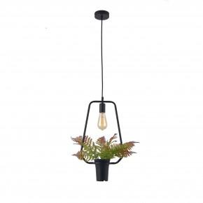 Lampy-sufitowe - dekoracyjna lampa wisząca ze sztucznym kwiatem e27 soren b il mio polux