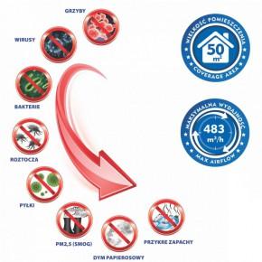 Nawilzacze-i-odswiezacze-powietrza - oczyszczacz powietrza z lampą uv i jonizatorem 70w da-070