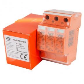 Ograniczniki-przepiec - ochronnik przepięć t2 do instalacji fotowoltaicznych dc c+3p vcx