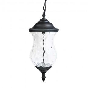 Lampy-ogrodowe-wiszace - lampa wisząca ogrodowa led czarna 9w 3000k 370lm marsylia led 300850 polux