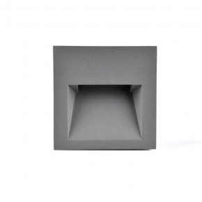 Oswietlenie-schodowe - oprawa schodowa led grafitowa podtynkowa 3w 4000k q7 313737 polux