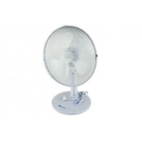 Wentylatory-na-biurko - wentylator biurkowy biały 35w o średnicy 12'' da-1203 descon