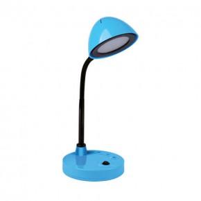 Lampki-biurkowe - lampka na biurko led w kolorze niebieskim 4w neutralne światło 248lm roni led 02873 ideus