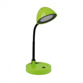 Lampki-biurkowe - lampka na biurko led zielona 4w neutralne światło roni led 02875 ideus