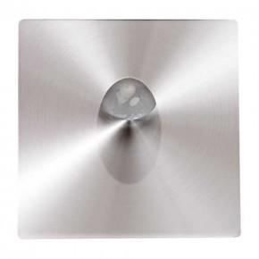 Oswietlenie-schodowe - oprawa schodowa led wbudowywywana 3w matowy chrom neutralne światło 4000k zumrut hl957l 02617 ideus