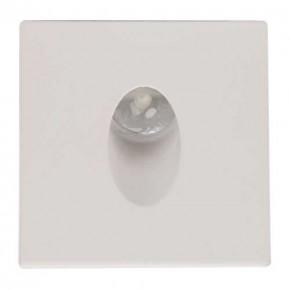 Oswietlenie-schodowe - schodowa oprawa led w kolorze białym o mocy 3w 4000k 86lm zumrut hl957l 02616 ideus