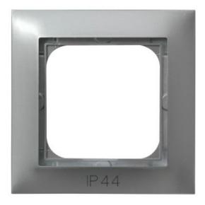Ramka srebrna pojedyncza hermetyczna RH-1Y/18 IMPRESJA OSPEL