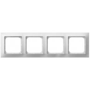 Biała ramka 4 krotna R-4Y/00 IMPRESJA OSPEL