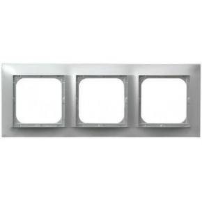 Potrójna srebrna ramka R-3Y/18 IMPRESJA OSPEL