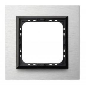 Pojedyncza ramka szczotkowane aluminium R-1YAC/62/25 IMPRESJA OSPEL
