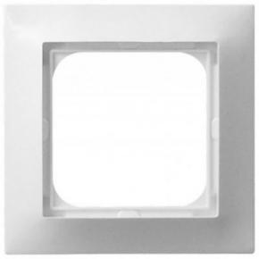 Pojedyncza biała ramka instalacyjna R-1Y/00 IMPRESJA OSPEL