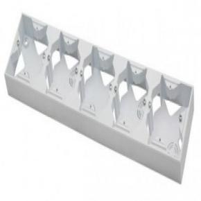 Pięciokrotna puszka natynkowa biała PNP-5Y/00 IMPRESJA OSPEL