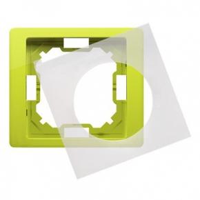 Ramka pojedyncza IP44 limonkowa BMRC1B/036 Simon Basic Neos Kontakt-Simon