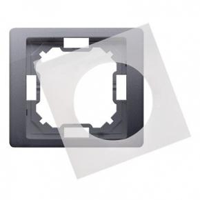 Ramka pojedyncza IP44 srebrna BMRC1B/43 Simon Basic Neos Kontakt-Simon