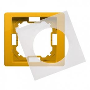 Ramka pojedyncza żółta IP44 BMRC1B/034 Simon Basic Neos Kontakt-Simon