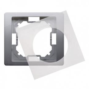 Ramka hermetyczna pojedyncza IP44 inox BMRC1B/21 Simon Basic Neos Kontakt-Simon