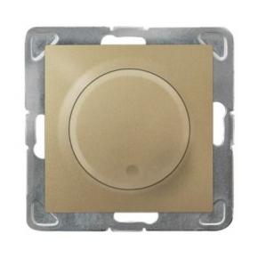 Ściemniacz złoty przyciskowo-obrotowy ŁP-8Y/m/28 IMPRESJA OSPEL