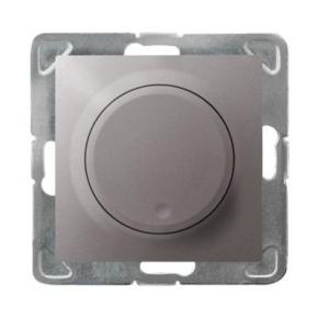 Tytanowy ściemniacz przyciskowo-obrotowy ŁP-8Y/m/23 IMPRESJA OSPEL