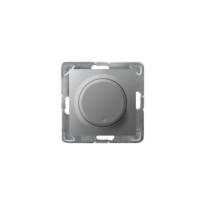 Regulatory-oswietlenia - srebrny ściemniacz do oświetlenia żarowego i halogenowego łp-8y/m/18 impresja ospel firmy OSPEL