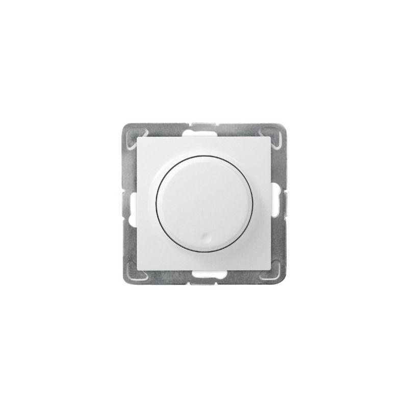 Regulatory-oswietlenia - ściemniacz przyciskowo-obrotowy biały łp-8y/m/00 impresja ospel firmy OSPEL