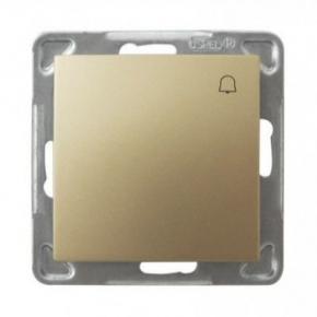 Przycisk dzwonkowy złoty ŁP-6Y/m/28 IMPRESJA OSPEL