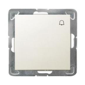 Przycisk dzwonkowy ECRU ŁP-6Y/m/27 IMPRESJA OSPEL