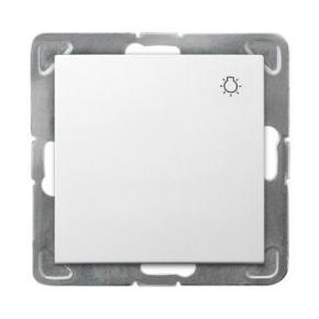 Biały włącznik zwierny światło ŁP-5Y/m/00 IMPRESJA OSPEL