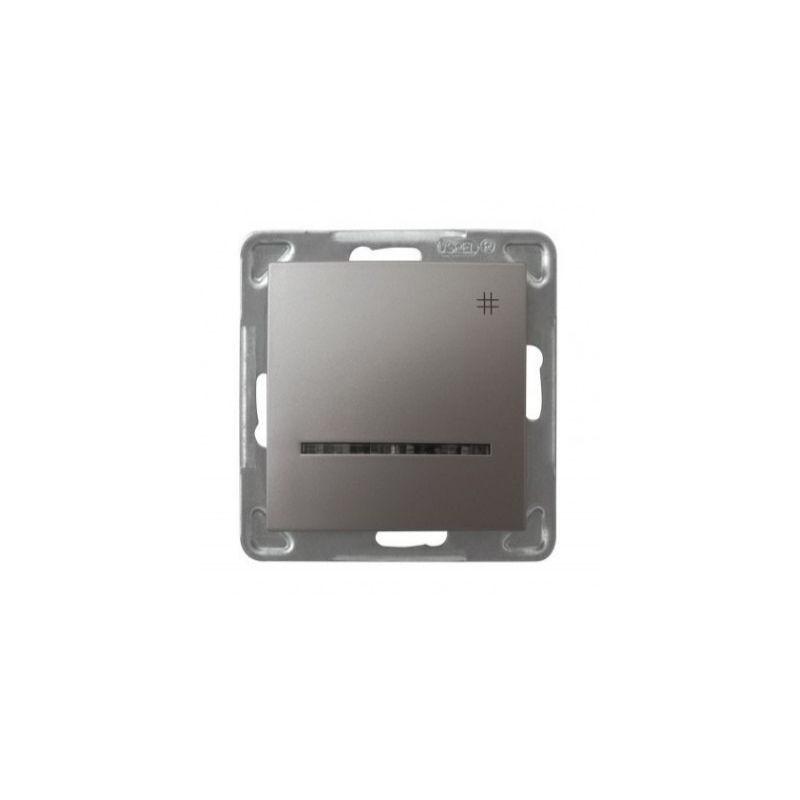 Tytanowy włącznik krzyżowy ŁP-4YS/M/23 IMPRESJA OSPEL