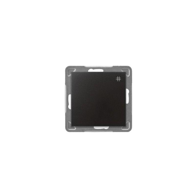 Antracytowy włącznik krzyżowy ŁP-4Y/m/50 IMPRESJA OSPEL