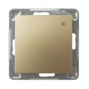 Krzyżowy złoty włącznik ŁP-4Y/m/28 IMPRESJA OSPEL