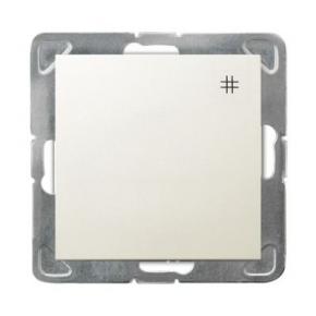 Włącznik ECRU krzyżowy ŁP-4Y/m/27 IMPRESJA OSPEL