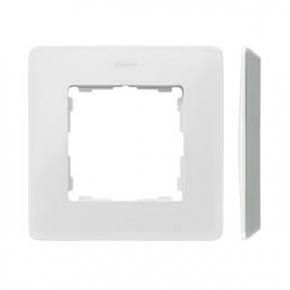 Ramka pojedyncza aluminiowa biała 8200610-230 Simon 82 Detail Kontakt-Simon