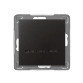 Włącznik jednobiegunowy antracytowy z podświetleniem ŁP-1YS/m/50 IMPRESJA OSPEL