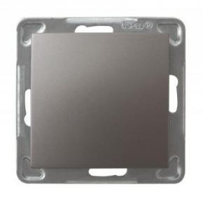 Tytanowy włącznik jednobiegunowy ŁP-1Y/m/23 IMPRESJA OSPEL