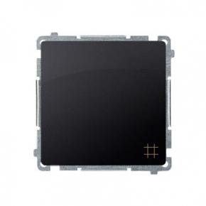 Włącznik krzyżowy (moduł) zaciski śrubowe grafit mat BMW7.01/28 Simon Basic Kontakt-Simon