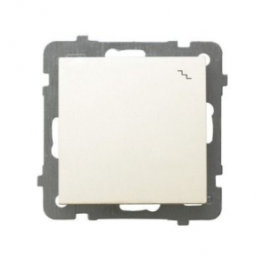 Włącznik schodowy podtynkowy ECRU ŁP-3G/M/27 AS OSPEL