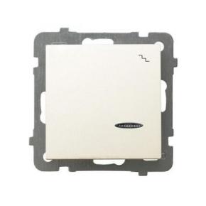 Włącznik schodowy z podświetleniem ECRU ŁP-3GS/M/27 AS OSPEL