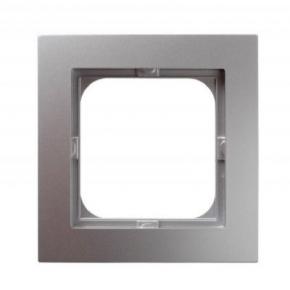 Ramka pojedyncza srebrna R-1G/18 AS OSPEL