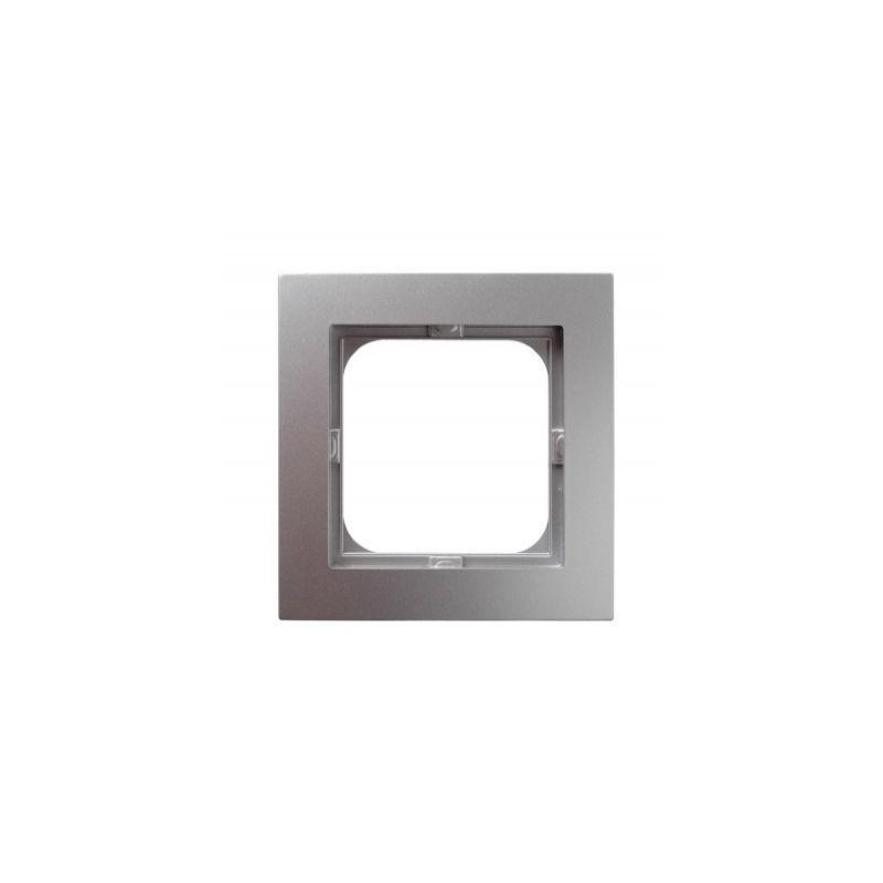 Ramki-pojedyncze - ramka pojedyncza srebrna r-1g/18 as ospel firmy OSPEL