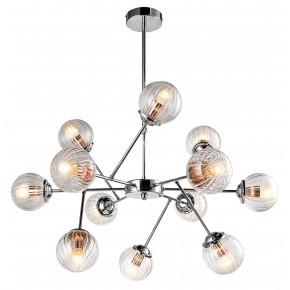 BEST LAMPA WISZĄCA 12X40W E14 CHROM+MIEDŹ