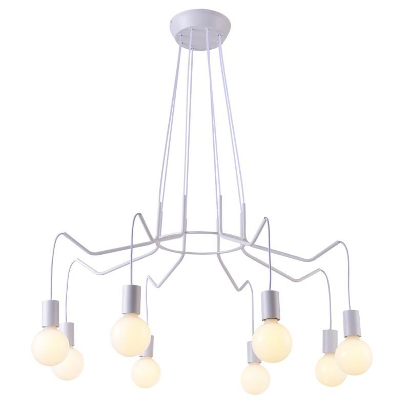 Lampy-sufitowe - lampa wisząca z ośmioma ramionami 8x40w e27 basso 38-71040 candellux firmy Candellux
