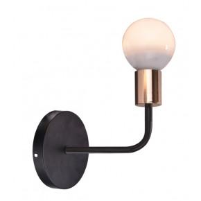 SPILL LAMPA KINKIET 1X60W E27 CZARNY
