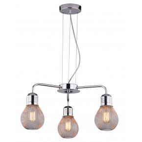 GLIVA LAMPA WISZĄCA 3X60W E27 CHROM (BEZ ŻARÓWEK)
