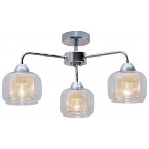 RAY LAMPA SUFITOWA 3X40W E14 CHROM