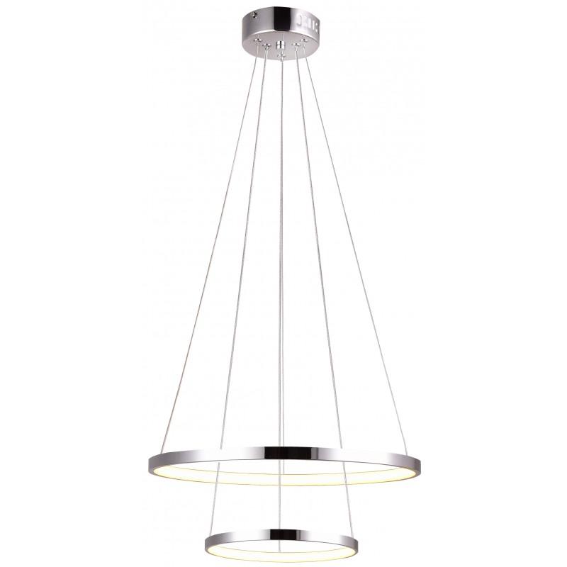 Lampy-sufitowe - podwójna lampa wisząca okrągła 40w led 4000k lune 32-64769 candellux firmy Candellux